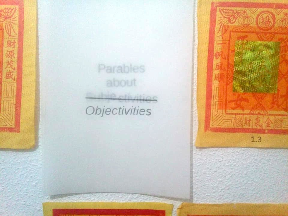 objectivitysubjectivityparable
